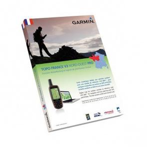 Garmin Carte Pour GPS Garmin Pro France Nord-Ouest Pack Carte Micro SD + DVD