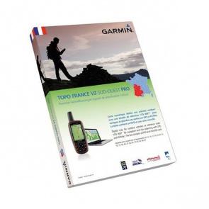 Garmin Carte Pour GPS Garmin Pro France Sud-Ouest Pack Carte Micro SD + DVD