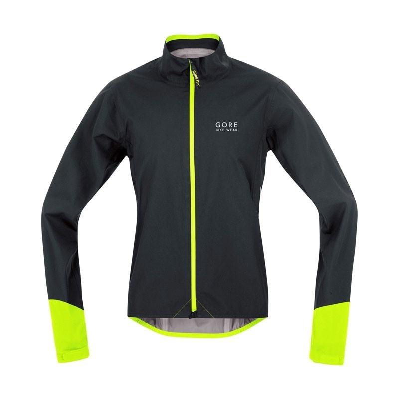 Gore Bike Wear Power GT AS Jas Zwart/Neon Geel