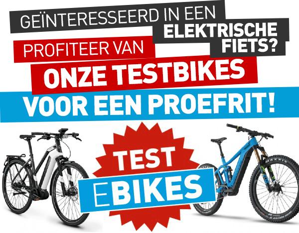 Test een e-citybike of een e-MTB