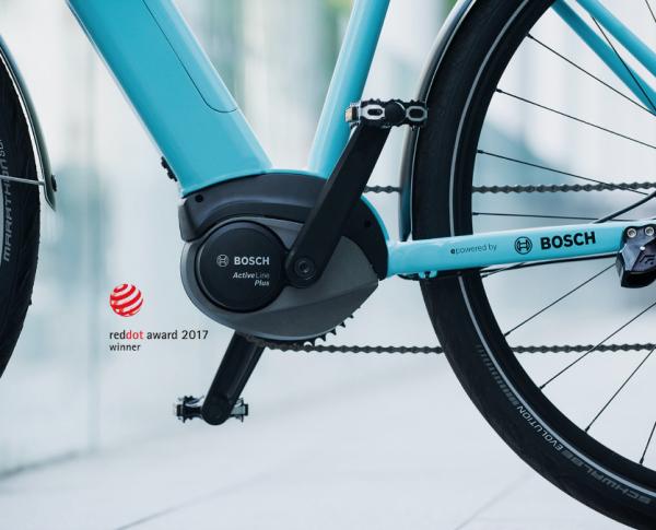 De nieuwe Bosch Active Line Plus is dé beste motor voor elektrische stadsfietsen!