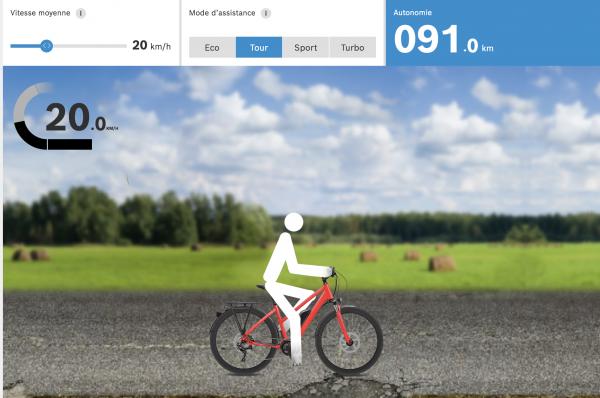 Quelle est l'autonomie de nos vélos électriques ?