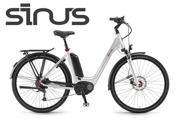 Nieuw in onze showroom: de prachtige Sinus e-bikes!