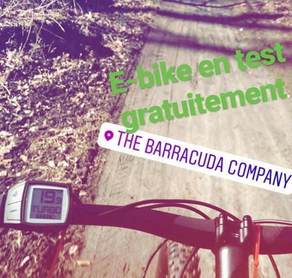 Testez gratuitement votre prochain vélo à assistance électrique dans vos magasins Barracuda