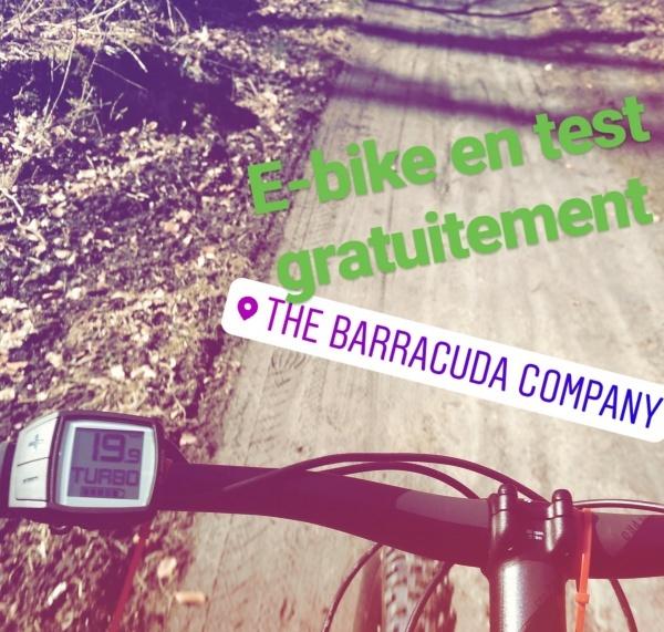Test gratis uw nieuwe elektrische fiets in één van onze Barracuda winkels