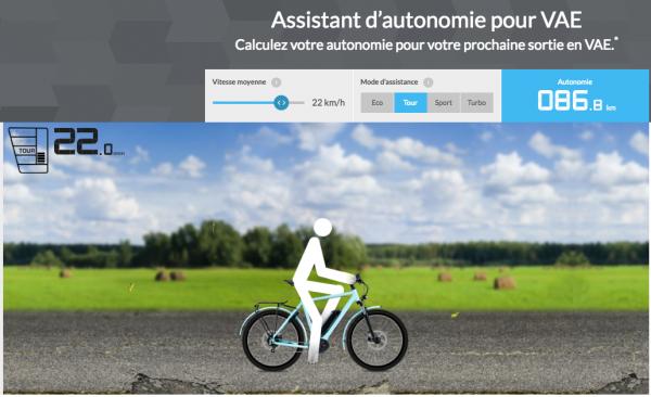 Quelle est l'autonomie espérée d'un VAE avec motorisation Bosch ?