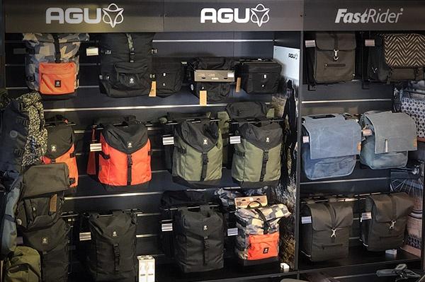 Toute la bagagerie Agu disponible chez Barracuda