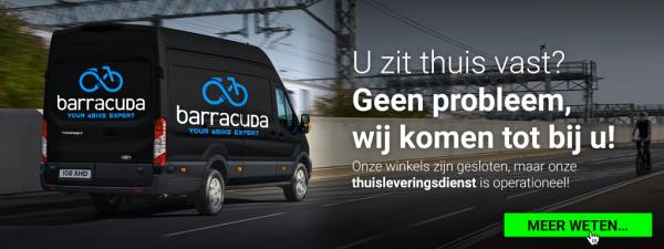 Uw nieuwe elektrische fiets, rechtstreeks bij u thuis!