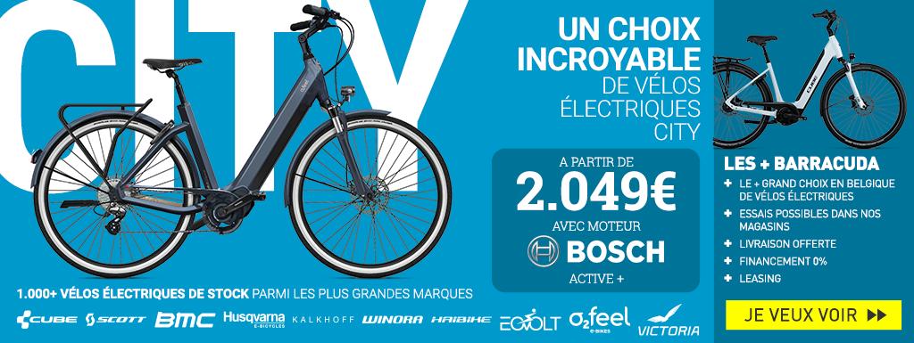 Vélos électrique City